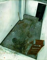 Amer Kobaslija Painter's Floor with an Open Door, 2005