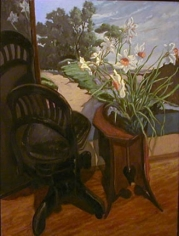 """Jack Beal Daffodils with Corot's """"Nami"""""""