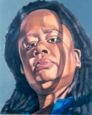 Diane Edison Self Portrait (Shadow)