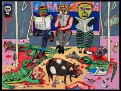 Luis Cruz Azaceta 'Indifference (Small Infernos),' 1977