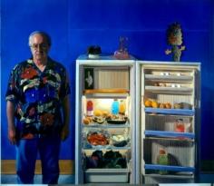 James Valerio Self-portrait with Refrigerator, 2007