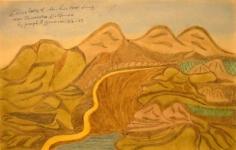 Joseph Yoakum, Choco Valley of San Luis Obispo County, 1969