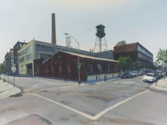 Andrew Lenaghan, 'North 11th and Berry Williamsburg,' 2011