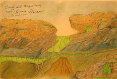 Joseph Yoakum, Trinity and Begas Valley, 1964
