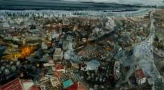 Amer Kobaslija, 'Imaginary View of Kesennuma Port,' 2011