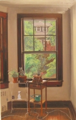 Andrew Lenaghan Papyrus Plant in the Window, 2003