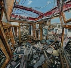 Amer Kobaslija Ruined House Near Kesennuma Port, 2011