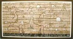 Jose Bedia Cualidades de sobreviviente
