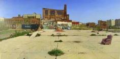 Andrew Lenaghan Skateboard Court, North 8th St., Williamsburg, Brooklyn