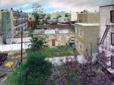 Andrew Lenaghan, 'View from Walid's Rear Window,' 2011