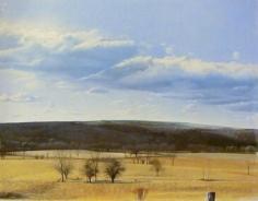 William Beckman Landscape (Wassaic, NY), 1974