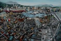 Amer Kobaslija, 'Ships, Shinhamacho District,' 2011