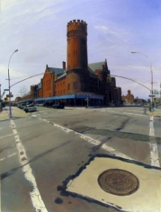 Andrew Lenaghan, 'Bedford Ave Armory,' 2010