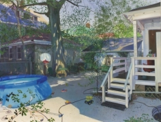 Andrew Lenaghan, 'August Backyard,' 2011