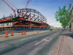Andrew Lenaghan, 'New Stadium, Atlantic Ave,' 2011