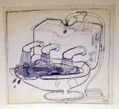 Peter Saul Untitled (Kutty Sark), c. 1963