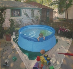 Andrew Lenaghan Charlie in the Wading Pool, 2008