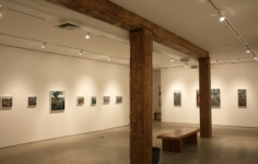 Installation view, Amer Kobaslija,One Hundred Views of Kesennuma: Paintings of Japan's Altered Landscape,George Adams Gallery, New York, 2012.
