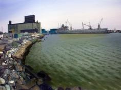 Andrew Lenaghan, 'Old School Freighter Red Hook,' 2011