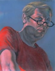 Jack Beal Self-portrait at Age 51