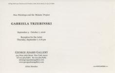 Gabriela Trzebinski Show Announcement (continued)