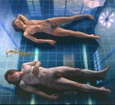 James Valerio Two Models on Studio Floor