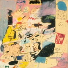 Peter Saul Pimples, 1960