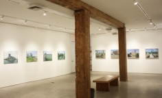 Installation view, 'Andrew Lenaghan: Recent Paintings,' George Adams Gallery, New York, 2012.