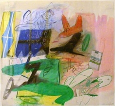 Peter Saul Untitled (Quaker State), 1960