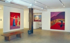 Joan Brown Installation View