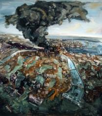 Amer Kobaslija, 'Black Smoke,' 2012