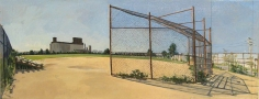 Image of Baseball field in red hook park from camp uno, No. 4