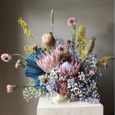 IN-BETWEEN SURREALISM AND FREAKEBANA, HERE IS WHAT HAPPENED TO THE FLOWER BOUQUET