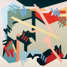 """Margot Voorhies Thompson: """"Expedition and Freedom Walls II"""" at Laura Russo Gallery"""
