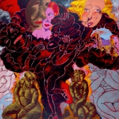 Breaking Through: Robert Colescott and J.D. Perkin