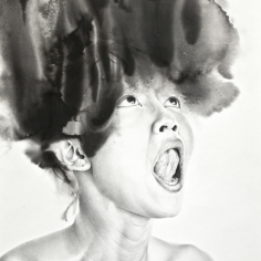 Portland-based artist Samantha Wall talks us through the divergent emotions of her haunting works...