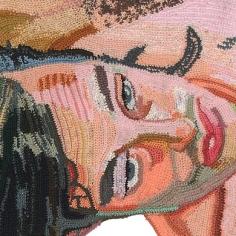 Jo Hamilton – Painting with Yarn