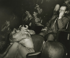 Weegee - Lovers at the Palace Theatre, c.1945 - Howard Greenberg Gallery