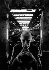 Arnold Newman - Alfried Krupp, 1963 - Howard Greenberg Gallery