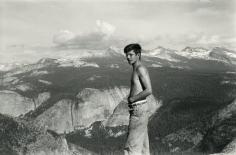 Allen Ginsberg - Peter Orlovsky, Yosemite National Park, CA, 1955 - Howard Greenberg Gallery