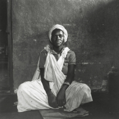 David Goldblatt - Untitled (seated woman), c.1972 - Howard Greenberg Gallery