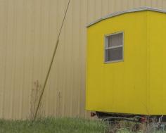 "Willis ""Buzz"" Hartshorn - Yellow Trailer, 2013 - Howard Greenberg Gallery"
