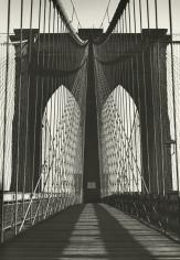 Harold Roth - Brooklyn Bridge, 1945 - Howard Greenberg Gallery