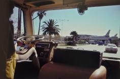 Joel Meyerowitz - Los Angeles Airport, California, 1974 - Howard Greenberg Gallery
