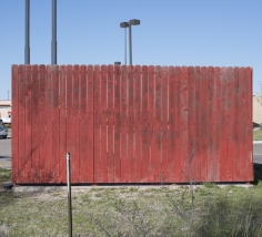 "Willis ""Buzz"" Hartshorn - Red Fence, 2013 - Howard Greenberg Gallery"