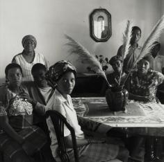David Goldblatt - Untitled (group gathered around table), 1972 - Howard Greenberg Gallery