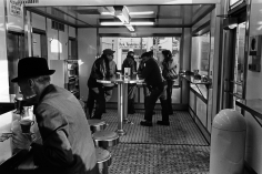 Tom Arndt - Men in a White Castle, Minneapolis, MN, 1970   - Howard Greenberg Gallery