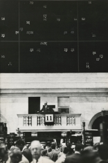 Marvin Newman - Under the Big Board, New York Stock Exchange, 1957 - Howard Greenberg Gallery