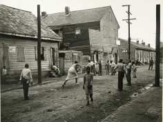 Peter Sekaer - Irish Channel, future site of St. Thomas housing project, St. Thomas and Felicity Streets, New Orleans, c.1936 - Howard Greenberg Gallery