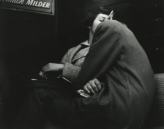 Arthur Leipzig - Subway Lovers, 1949 - Howard Greenberg Gallery